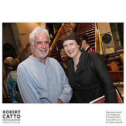 Ross Harris;Helen Clark at the NZSO 60th Anniversary Concert at Michael Fowler Centre, Wellington, New Zealand.