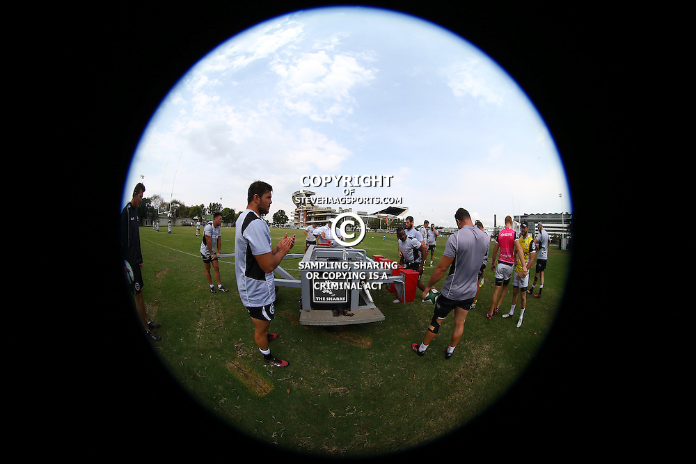 DURBAN, SOUTH AFRICA, 16 August, 2016 - General views during The Cell C Sharks  Press Conference and Currie Cup training session at Growthpoint Kings Park in Durban, South Africa. (Photo by Steve Haag)<br /> <br /> images for social media must have consent from Steve Haag