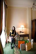 Damasia Lemos, personal shopper at the Alvear Palace Hotel
