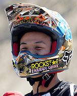 Taka at the FMX Finals at the AST Dew Tour Right Guard Open in Cleveland.