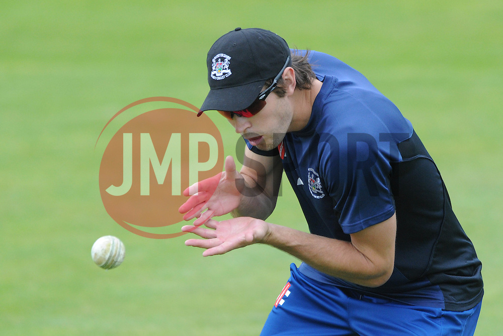 James Fuller of Gloucestershire - Photo mandatory by-line: Dougie Allward/JMP - Mobile: 07966 386802 - 12/06/2015 - SPORT - Cricket - Bristol - County Ground - Gloucestershire v Glamorgan - Natwest T20 Blast