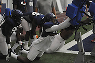 Ole Miss football practice at the Manning Center, in Oxford, Miss. on Monday, August 18, 2014.