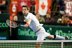 Davis Cup 2017 -- GB at Canada, Day 2