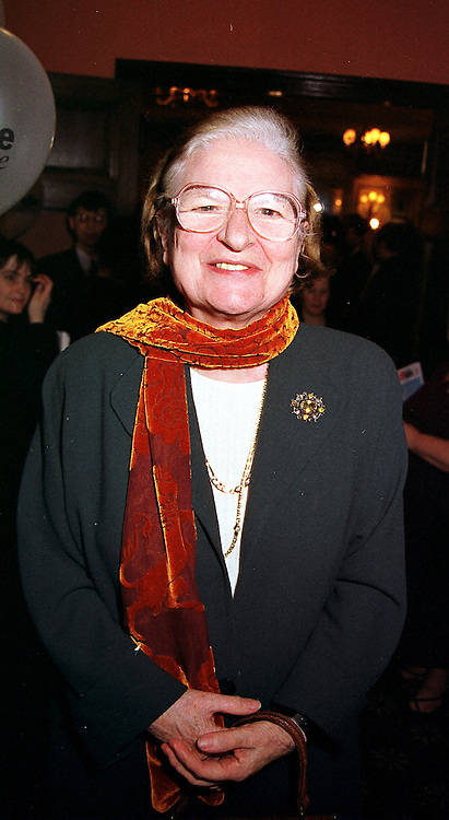 BARONESS JAMES OF HOLLAND PARK she is writer P D James, at a reception in London on 4th April 2000.OCR 122<br /> © Desmond O'Neill Features:- 020 8971 9600<br />    10 Victoria Mews, London.  SW18 3PY  photos@donfeatures.com   www.donfeatures.com<br /> MINIMUM REPRODUCTION FEE AS AGREED.<br /> PHOTOGRAPH BY DOMINIC O'NEILL