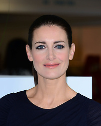Kirsty Gallacher, takes part in photocall to launch two day women's fitness and health fair,Be: Fit London,  Old Billingsgate, London, United Kingdom. Friday, 28th March 2014. Picture by Nils Jorgensen / i-Images