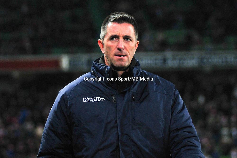 Raphael Fevre - 20.12.2014 - Caen / Bastia - 19eme journee de Ligue 1 <br /> Photo : Philippe Le Brech / Icon Sport