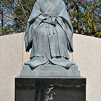 Tenshō-in Statue at Tsurumaru Castle in Kagoshima, Japan <br />