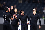 SOLNA, SWEDEN - MARCH 13: Stefan Silva of AIK celebrates after scoring to 2-0 during the Swedish Cup Quarterfinal between AIK and Orebro SK at Friends arena on March 13, 2018 in Solna, Sweden. Photo by Nils Petter Nilsson/Ombrello<br /> ***BETALBILD***