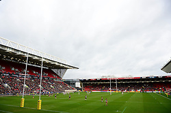 A general view of Ashton Gate Stadium as Bristol Rugby play Bath Rugby - Mandatory by-line: Dougie Allward/JMP - 26/02/2017 - RUGBY - Ashton Gate - Bristol, England - Bristol Rugby v Bath Rugby - Aviva Premiership