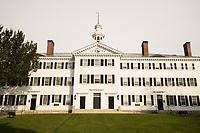 Dartmouth Hall at Dartmouth College, Hanover, New Hampshire