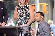 John Legend Performs at the Today Show