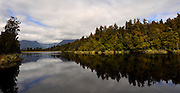 New Zealand, South Island. Lake Matheson