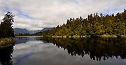 New Zealand, South Island. Lake Matheson