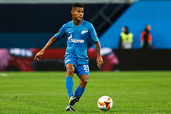 February 21, 2019 - Saint Petersburg, Russia - Wilmar Barrios of FC Zenit Saint Petersburg in action during the UEFA Europa League Round of 32 second leg match between FC Zenit Saint Petersburg and Fenerbahce SK on February 21, 2019 at Saint Petersburg Stadium in Saint Petersburg, Russia. (Credit Image: © Mike Kireev/NurPhoto via ZUMA Press)