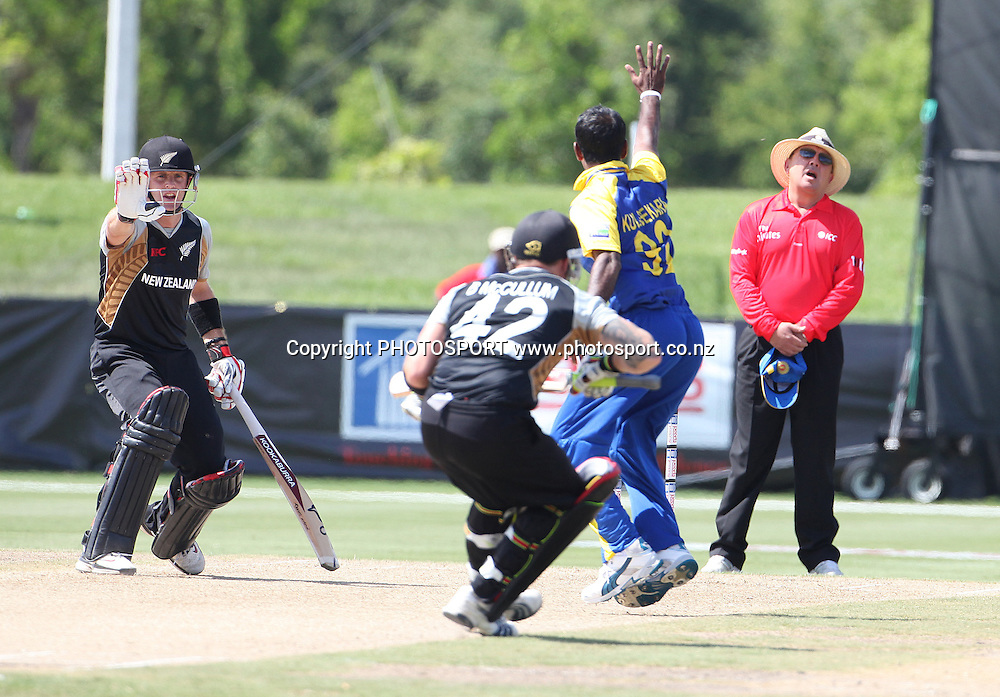 New Zealand Black Caps v Sri Lanka, international exhibition Twenty 20 cricket match, Central Broward Regional Park, Florida, United States of America. 22 May 2010. Photo: Barry Bland/PHOTOSPORT