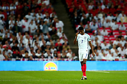 Marcus Rashford of England cuts a dejected figure - Mandatory by-line: Robbie Stephenson/JMP - 04/09/2017 - FOOTBALL - Wembley Stadium - London, United Kingdom - England v Slovakia - 2018 FIFA World Cup Qualifier