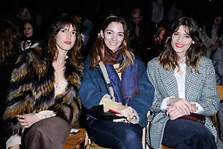 Jeanne Damas, Sofia Sanchez de Betak and guest attending the Isabel Marant show as part of the Paris Fashion Week Womenswear Fall/Winter 2018/2019 in Paris, France on March 01, 2018. Photo by Aurore Marechal/ABACAPRESS.COM