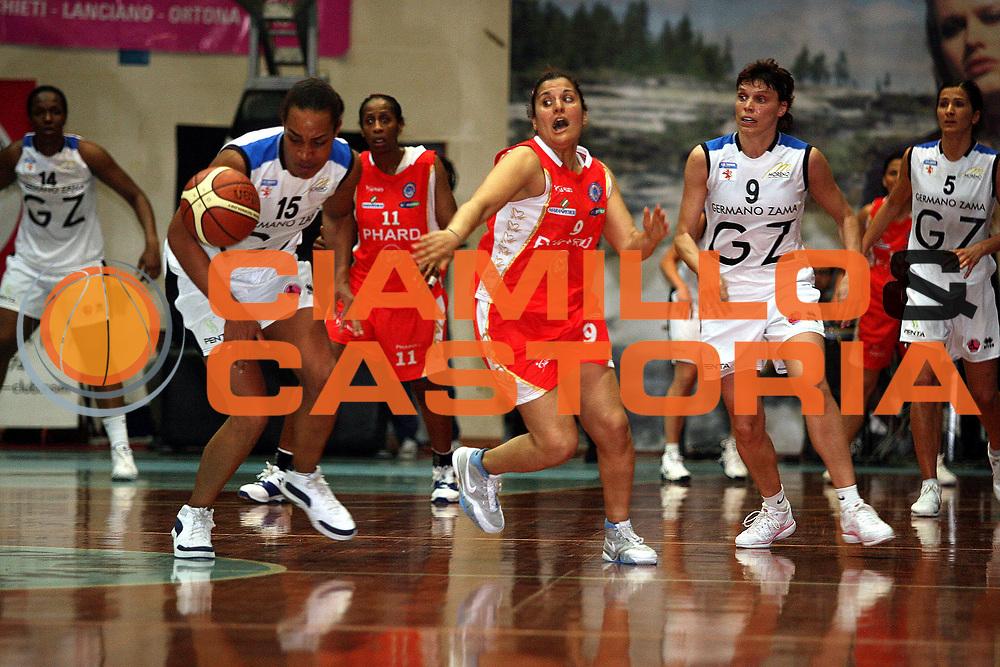 DESCRIZIONE : Faenza Lega A1 Femminile 2006-07 Finale Scudetto Gara 3 Germano Zama Faenza Phard Napoli<br /> GIOCATORE : Mirchandani Palla Persa<br /> SQUADRA : Phard Napoli<br /> EVENTO : Campionato Lega A1 Femminile Finale Scudetto Gara 3 2006-2007 <br /> GARA : Germano Zama Faenza Phard Napoli<br /> DATA : 14/05/2007 <br /> CATEGORIA : Recupero<br /> SPORT : Pallacanestro <br /> AUTORE : Agenzia Ciamillo-Castoria/M.Marchi <br /> Galleria : Lega Basket Femminile 2006-2007<br /> Fotonotizia : Faenza Campionato Italiano Femminile Lega A1 2006-2007 Finale Scudetto Gara 3 Germano Zama Faenza Phard Napoli<br /> Predefinita :