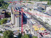 2018. August Switzerland,Zürich Manegg A4Prime Manegg West Baustelle