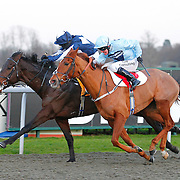 Fearless Lad and Hayley Turner winning the 4.30 race