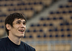 Ersan Ilyasova of Turkey during the practice session, on September 11, 2009 in Arena Lodz, Hala Sportowa, Lodz, Poland.  (Photo by Vid Ponikvar / Sportida)