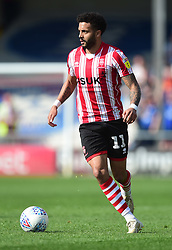 Bruno Andrade of Lincoln City - Mandatory by-line: Alex James/JMP - 22/04/2019 - FOOTBALL - Sincil Bank Stadium - Lincoln, England - Lincoln City v Tranmere Rovers - Sky Bet League Two
