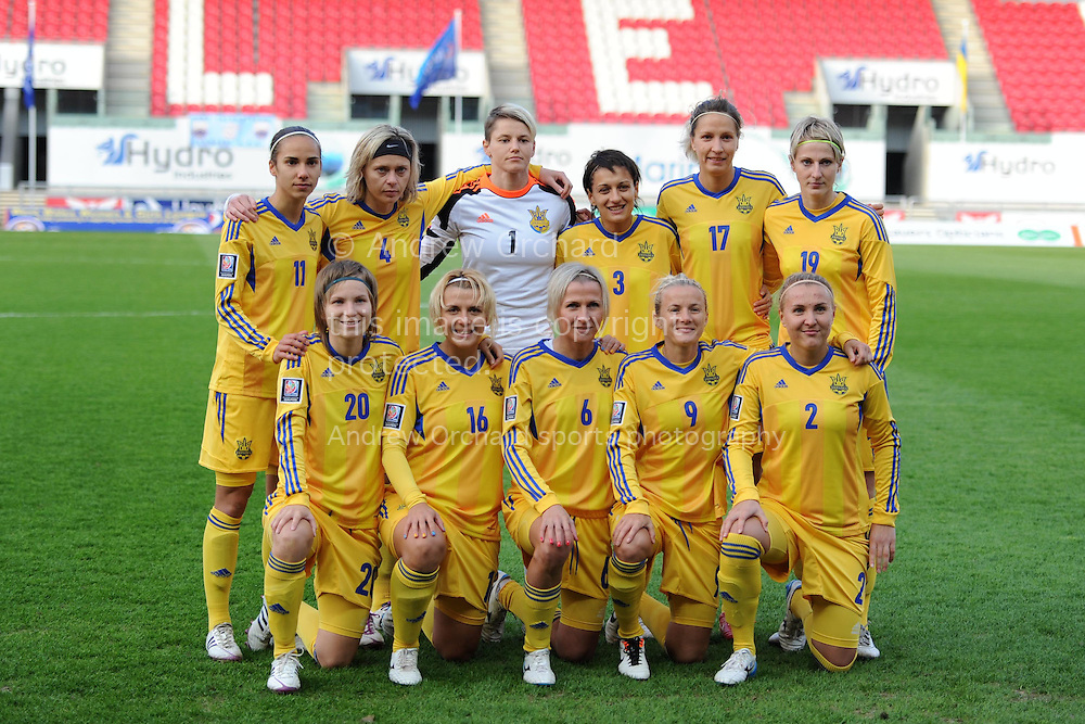 Wales women v Ukraine women | Andrew Orchard Sports ... Ukrainian Football Girls