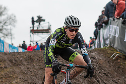 Christine Vardaros (USA), Women, Cyclo-cross World Cup Hoogerheide, The Netherlands, 25 January 2015, Photo by Pim Nijland / PelotonPhotos.com