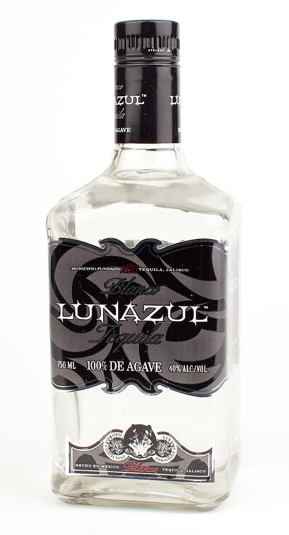 Lunazul blanco -- Image originally appeared in the Tequila Matchmaker: http://tequilamatchmaker.com