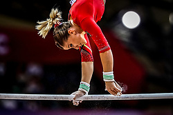 November 2, 2018 - Doha, Qatar - Elisabeth Seitz of  Germany   during  Uneven Bars for Women at the Aspire Dome in Doha, Qatar, Artistic FIG Gymnastics World Championships on 2 of November 2018. (Credit Image: © Ulrik Pedersen/NurPhoto via ZUMA Press)