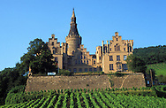 DEU, Germany, Bad Hoenningen, castle Arenfels.....DEU, Deutschland, Bad Hoenningen, Burg Arenfels.........