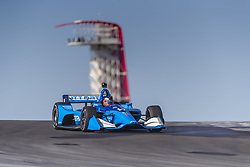 February 12, 2019 - Austin, Texas, U.S. - FELIX ROSENQVIST (10) of Sweeden goes through the turns during practice for the IndyCar Spring Test at Circuit Of The Americas in Austin, Texas. (Credit Image: © Walter G Arce Sr Asp Inc/ASP)