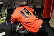 Perspreview 50 jaar Koninklijk Paleis Amsterdam.<br /> <br /> Op de foto:  T-shirt van  Johan Cruijff