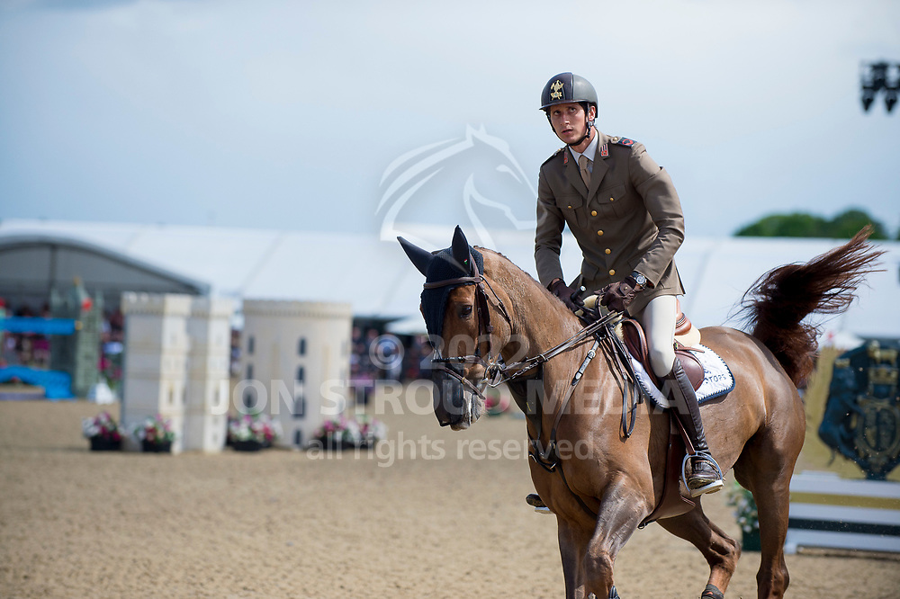 Alberto Zorzi (ITA) & Fair Light Van T Heike - Rolex Grand Prix - CSI5* Jumping - Royal Windsor Horse Show - Home Park, Windsor, United Kingdom - 14 May 2017