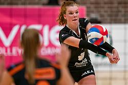 26-10-2019 NED: Dros Alterno - Set Up 65, Apeldoorn<br /> Round 4 of Eredivisie volleyball - Yvette Visser #1 of Alterno