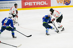 Rok Ticar during international tournament Euro ice hockey challenge on a friendly game with Hungary, on February 7, 2019 in Bled, Slovenia. Photo by Peter Podobnik / Sportida