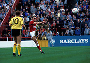 Nottingham Forest v Arsenal 12.9.1987