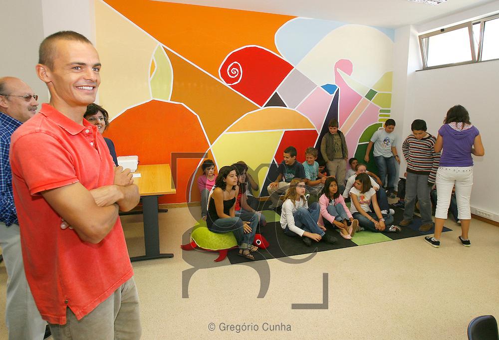 JOAO RODRIGUES NO CENTRO SOCIAL DE SANTO ANTONIO.FOTO GREGORIO CUNHA