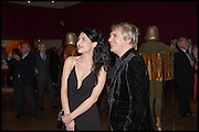 NEFER SUVIO, NICK RHODES, , Allen Jones private view. Royal Academy,  London. 11 November  2014.