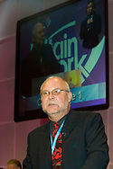 Bill Greenshields, NUT, speaking at the TUC 2006...© Martin Jenkinson, tel 0114 258 6808 mobile 07831 189363 email martin@pressphotos.co.uk. Copyright Designs & Patents Act 1988, moral rights asserted credit required. No part of this photo to be stored, reproduced, manipulated or transmitted to third parties by any means without prior written permission