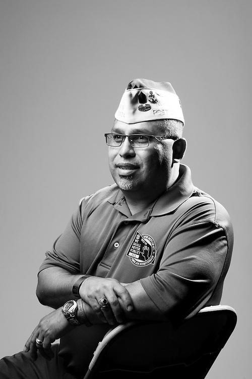 Ruben G. Ochoa<br /> Army<br /> E-7<br /> Armor Sergeant<br /> June 27, 1984 - Feb. 1, 2008<br /> Kosovo, OIF<br /> <br /> Veterans Portrait Project<br /> St. Louis, MO
