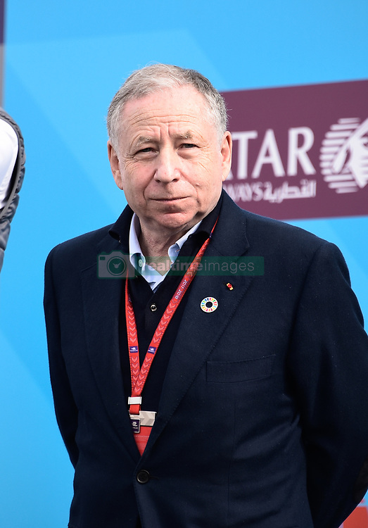 April 28, 2018 - Paris, France - Portrait de Jean Todt  (Credit Image: © Panoramic via ZUMA Press)