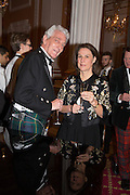MR. AND MRS. HARRY VERNEY, The National Trust for Scotland Mansion House Dinner. Mansion House, London. 16 October 2013