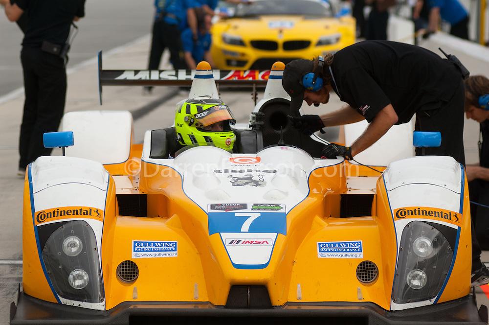#7 Starworks Motorsport ORECA FLM09: Mirco Schultis, Renger Vanderzande, Robert Gewirtz