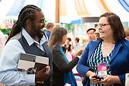 Bill Thoet of the Booz Allen Hamilton emcees the Aspen Award Reception at the 2015 Aspen Ideas Festival in Aspen, CO. ©Brett Wilhelm