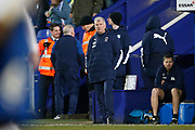 Glynn Hodges First Team Manager of Wimbledon during the EFL Sky Bet League 1 match between Tranmere Rovers and AFC Wimbledon at Prenton Park, Birkenhead, England on 21 December 2019.