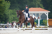 Caroline B Smidt - Donna Charian<br /> FEI European Dressage Championships for Young Riders and Juniors 2013<br /> © DigiShots