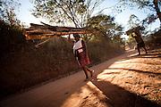 Dom Joaquim_MG, Brasil...Pessoas carregando lenha em Dom Joaquim, Minas Gerais...People carrying firewood in Dom Joaquim, Minas Gerais...Foto: LEO DRUMOND / NITRO