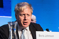 Mayor Boris Johnson listens to a question from a member of the public during the Mayor of London's People's Question Time at Fairfield Halls, Croydon.<br /> Picture by Paul Davey/Focus Images Ltd +447966 016296<br /> 03/03/2016