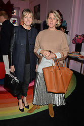 Left to right, the COUNTESS OF WOOLTON and FIONA GOLFAR at a lunch to view Solange Azagury-Partridge's new collection - Chromance at her store at 5 Carlos Place, London on 7th October 2014.